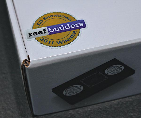 Winner 2011 Reef Builder LED Showdown