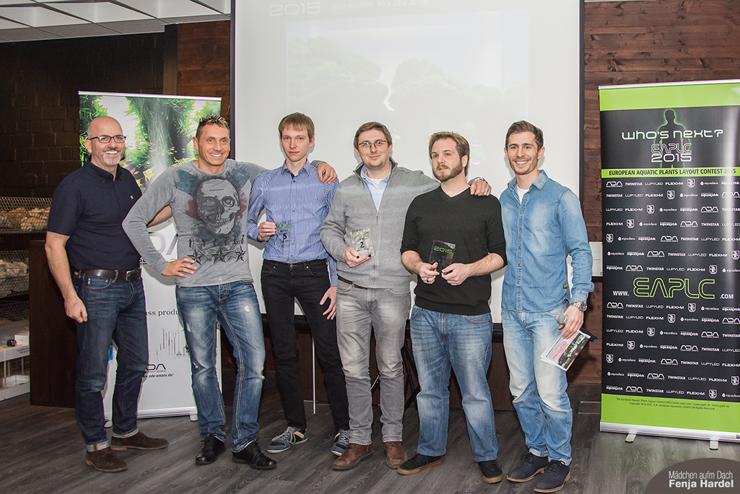 EAPLC 2015 Standard Winners